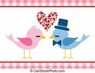 Love bird - Valentine s day