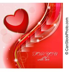 Valentine?s day background