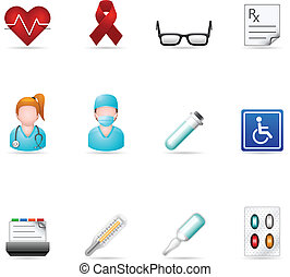 Web Icons - Medical 3 - Medical icon set