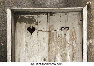 PORTA, amores, acorrentado