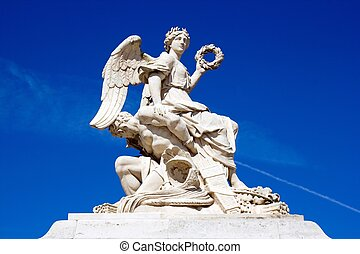 Victory bringing down her enemy, Palace of Versailles (17...