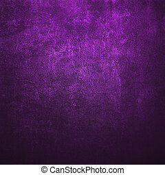 Abstract purple background or paper with bright spotlight...