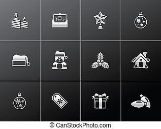 Metallic Icons - More Christmas