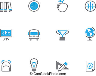 Duotone Icons - School