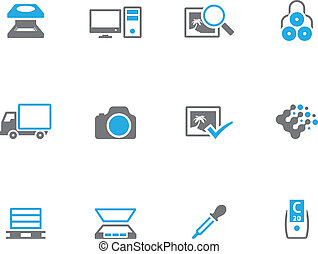 Duotone Icons - More Printing