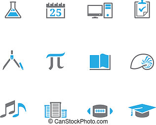 Duotone Icons - More School - More school icon series in duo...