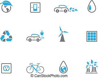 Duotone Icons - Environment