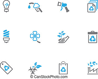 Duotone Icons - More Environment - Environment icon series...