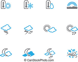 Duotone Icons - More Weather