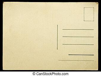 antikvitet, vykort