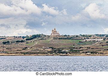 Santa Cilja Church in Gozo, Malta. - Santa Cilja Church on...