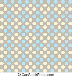 Polka dot fabric - Seamless pattern, polka dot fabric,...