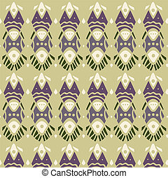 Ethnic pattern - Abstract pattern in ethnic style. Vector...