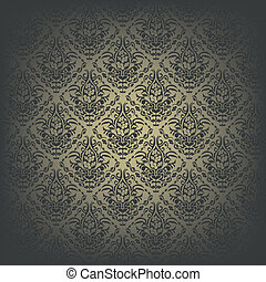 Seamless pattern Vintage wallpaper