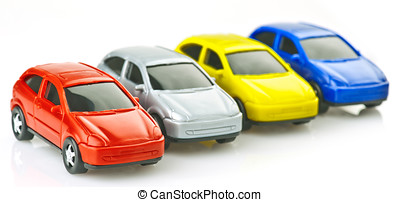 toy cars made ??of plastic