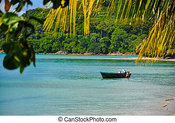 Caribbean Coastline in Colombia - Coast of the Caribbean...