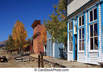 western town - old western town in colorado