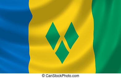 Flag of Saint Vincent