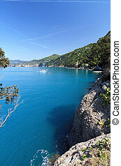 Camogli and Golfo Paradiso, Liguria, Italy