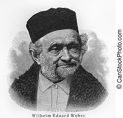 Wilhelm Eduard Weber- Picture from Meyers Lexicon books...