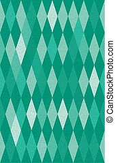 harlequin argyle vector seamless pattern - abstract green...