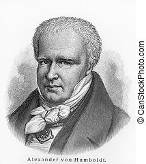 Alexander Humboldt - Picture from Meyers Lexicon books...