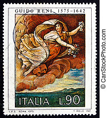 Postage stamp Italy 1975 Flora, Painting by Guido Reni -...