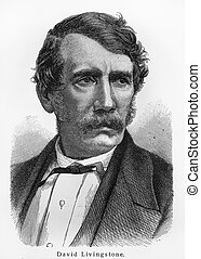 David Livingstone - Picture from Meyers Lexicon books...