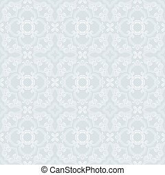 1930s vector seamless pattern - hand drawn linear pattern,...