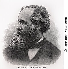 James Clerk Maxwell - Picture from Meyers Lexicon books...
