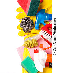 Assortment of means for cleaning and washing - Assortment of...
