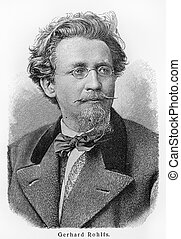 Friedrich Gerhard Rohlfs - Picture from Meyers Lexicon books...