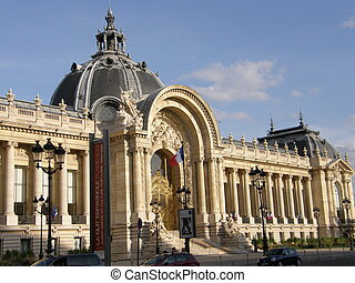 Petit Palais in Paris, France - Petit Palais or Small Palace...