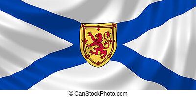 Flag Canadian Nova Scotia Province - Flag of Canadian Nova...