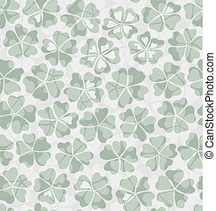 Decorative floral seamless background