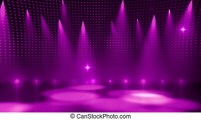 Disco Stage 8 - Disco Stage Dance Floor Colorful Vivid...