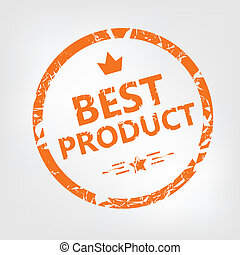 Best product rubber stamp - Grunge best product rubber...
