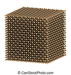 estructura, calcio,  cao), óxido,  (quicklime, cal, cristal