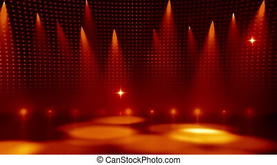 Disco Stage 4 - Disco Stage Dance Floor Colorful Vivid...