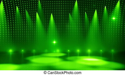Disco Stage 5 - Disco Stage Dance Floor Colorful Vivid...