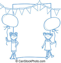 children party banner
