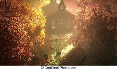 Cemetery Autumn 5
