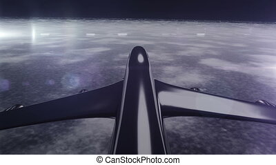 Airplane 20 - Airplane Flying 3D render