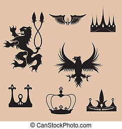 Black regal vector - This image is a vector illustration and...