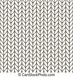 Seamless knitted background. Vector illustration