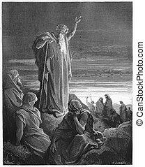el, profeta, Ezekiel