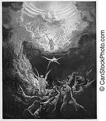 The Last Judgment - Picture from The Holy Scriptures, Old...