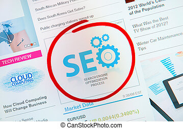 Success SEO Advertisement - Success internet banner...