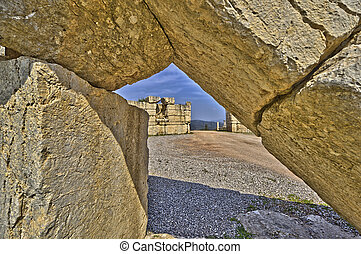 Arcadian Gate - The Arcadian Gate in Greece