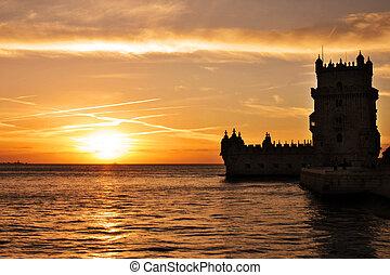 Torre de Belem Torre dos descobrimentos Portugal